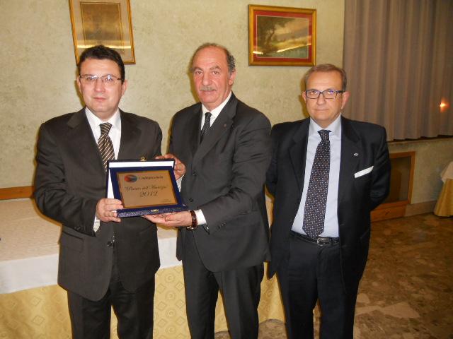Comandante GdF Antonio Oliveto - Franco Evangelista Pres. D'Amico