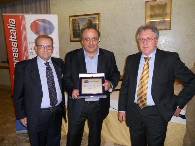 Pres. D'Amico - pres. Antonello Iannarilli - Luciano Scaccia