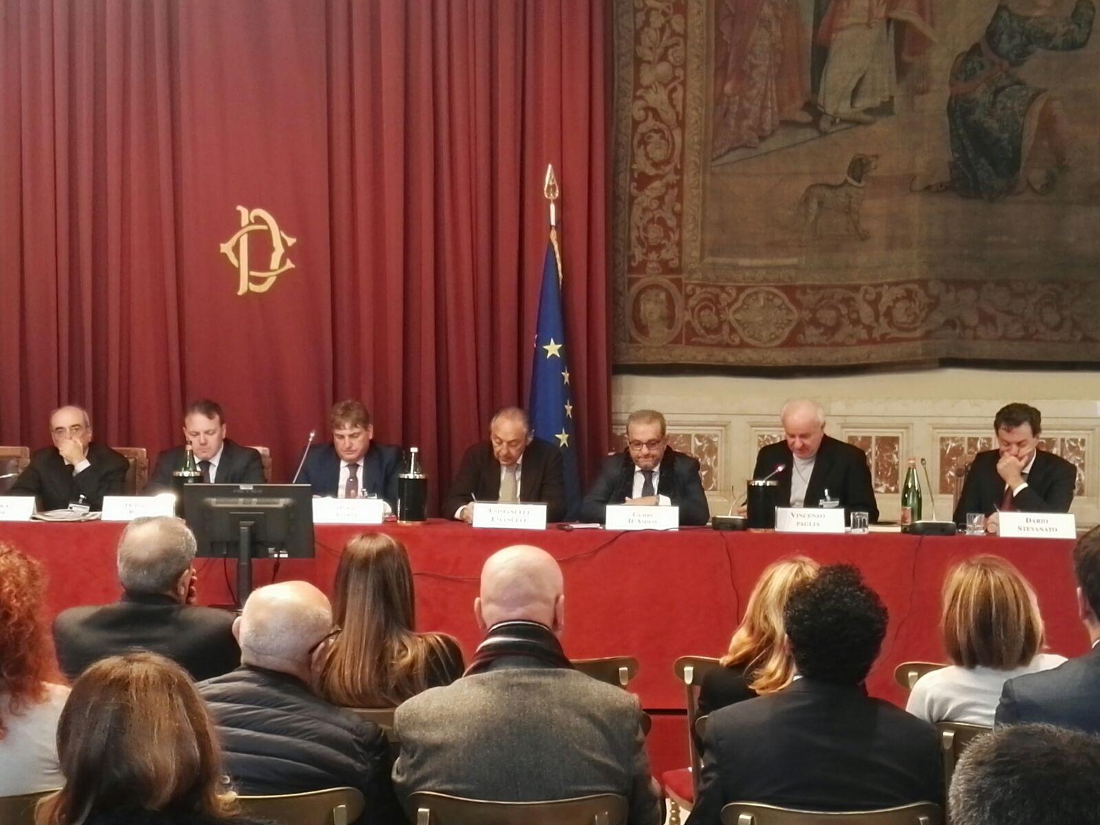 Sala della Regina-La Riforma fiscale in Italia